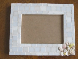 Frame with shells