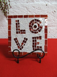 Valentine's wall plaque