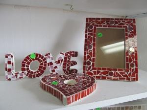 Mosaics - Valentines Day 2014