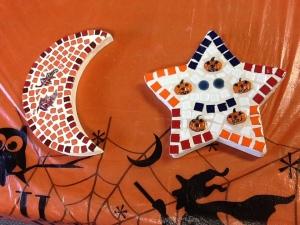 Halloween mosaics